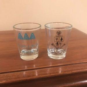 Other - Delta Delta Delta shot glasses